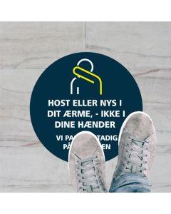 HOST ELLER NYS KLISTERMÆRKE, 20 CM RUND