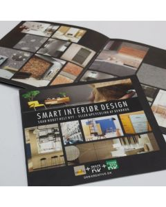Smart interiør design brochure