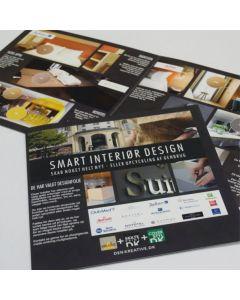 Smart interiør design Hotel brochure